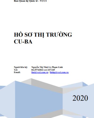 HỒ SƠ THỊ TRƯỜNG CUBA