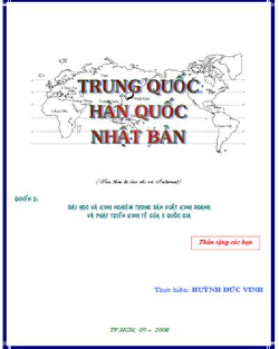 TRUNG QUỐC - HÀN QUỐC - NHẬT BẢN QUYỂN 2