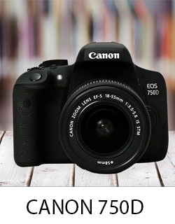 HƯỚNG DẪN SỬ DỤNG CANON 750D