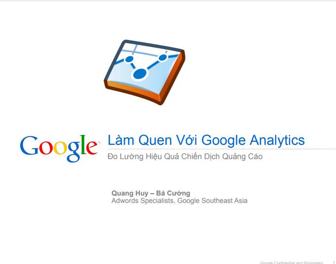 Hướng dẫn sử dụng Google Analytics cơ bản
