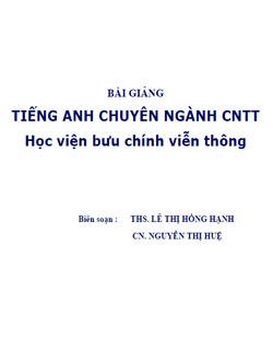 TIẾNG ANH CNTT